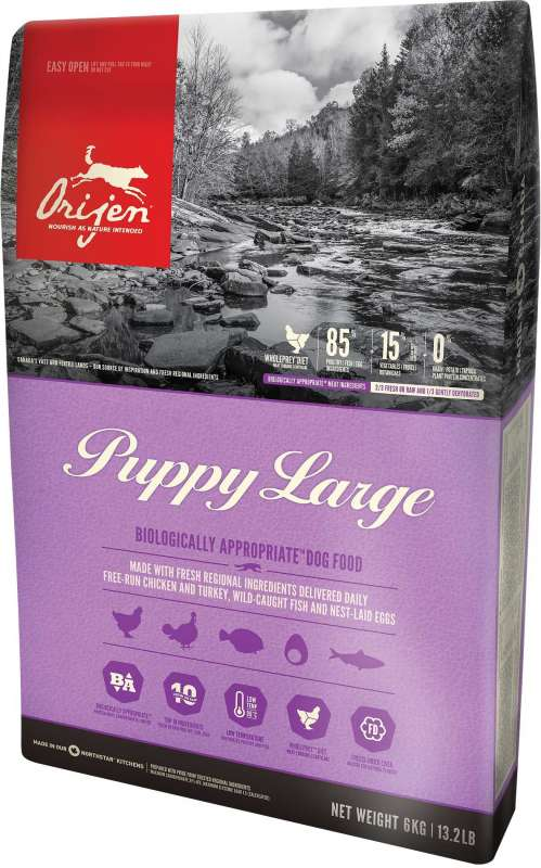 Orijen Puppy Large Whole Prey 6 kg 0064992181604 ervaringen