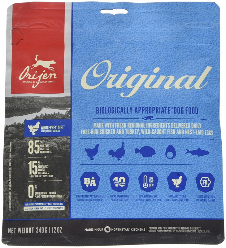 Orijen Original Dog Whole Prey 340 g