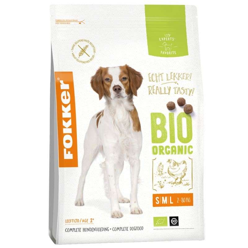 Dog Bio Organic from Fokker 2.5 kg, 10 kg buy online