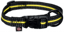 Trixie Fusion Sporting Collar, black/yellow