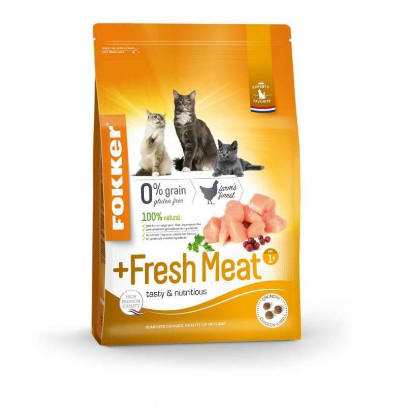 Fokker Cat +Fresh Meat 2.5 kg 8713447045023