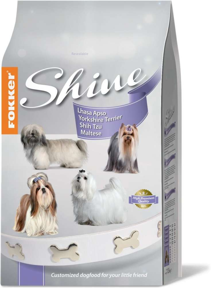 Fokker Customized Shine 3 kg bei Zoobio.at