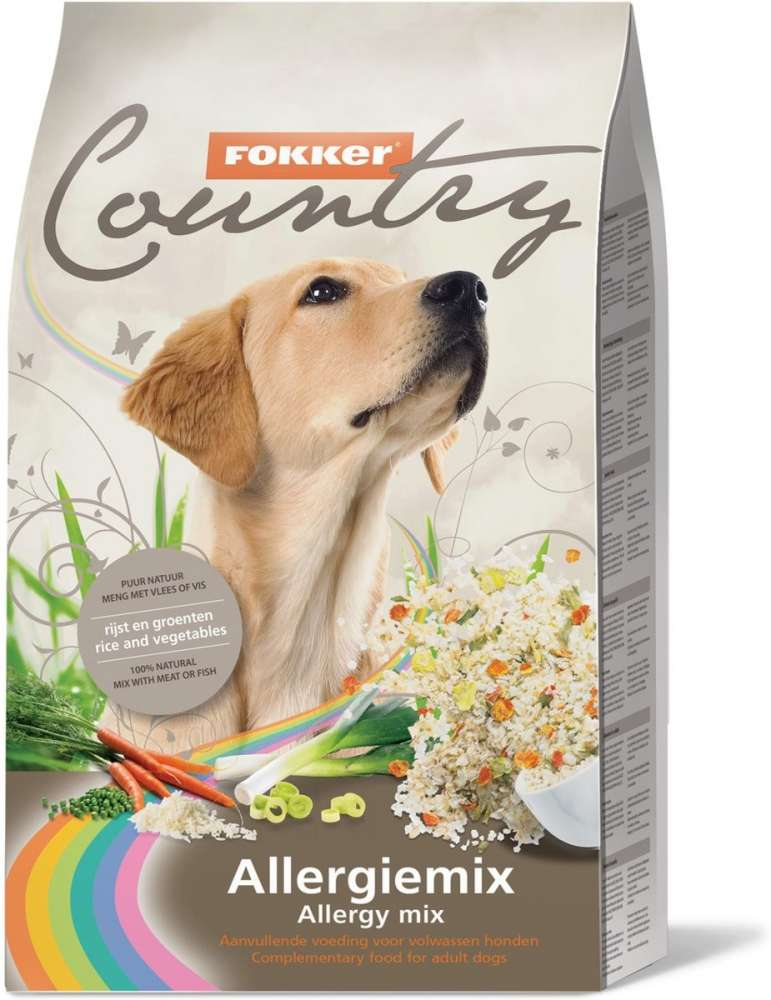 Fokker Country Allergy Mix 6 kg con uno sconto
