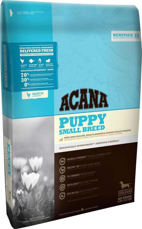 Acana Heritage Puppy Small Breed 2 kg 0064992502201 opiniones