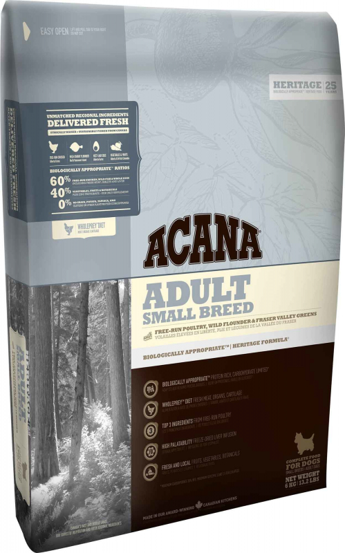 Acana Heritage Adult Small Breed 2 kg 0064992523206 opiniones