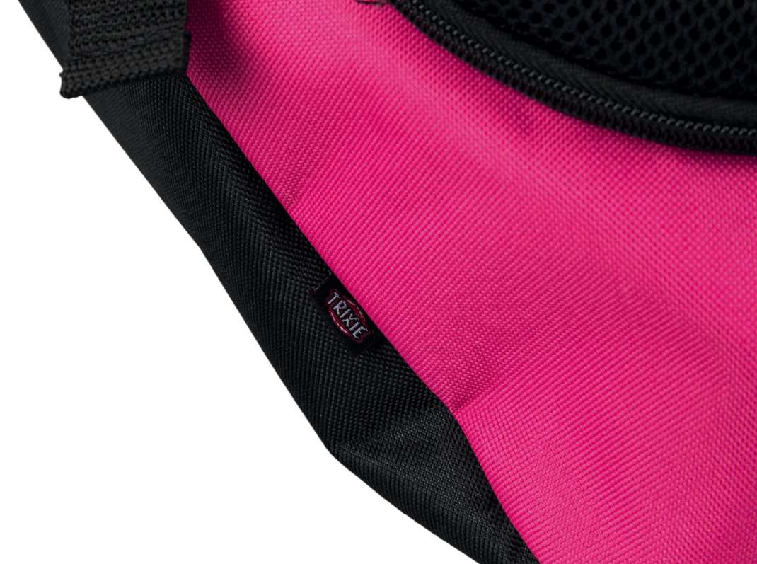 Trixie Sling Front Carrier, pink/black