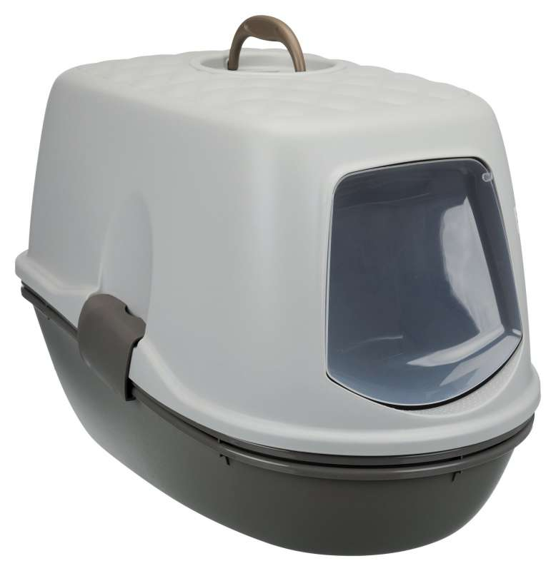 Trixie Berto Top Litter Tray, with Separating System, Threepart  Sølv 39x42x59 cm