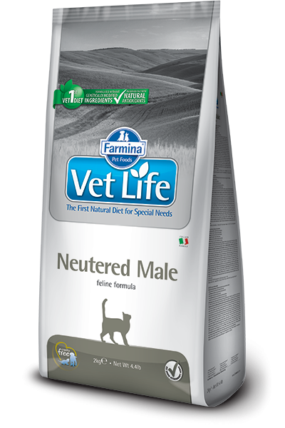 Farmina Vet Life Neutered Male 400 g, 2 kg