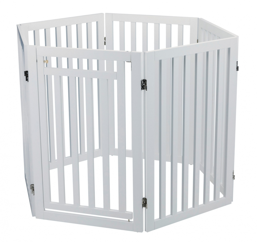 Trixie Dog Barrier with Door, 4 parts  60-160x81 cm  order cheap