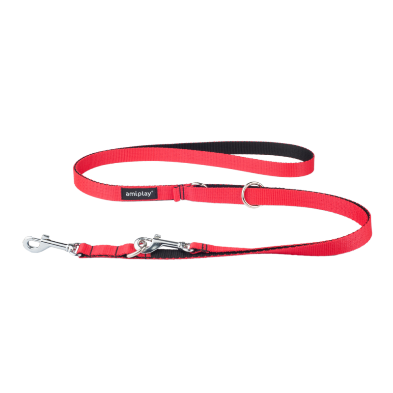 Amiplay Adjustable Leash 6 in 1 Twist L