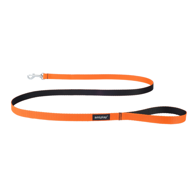 Amiplay Leine Twist  Orange L