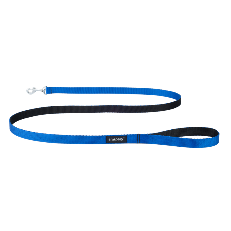 amiplay Leine Twist Blau L