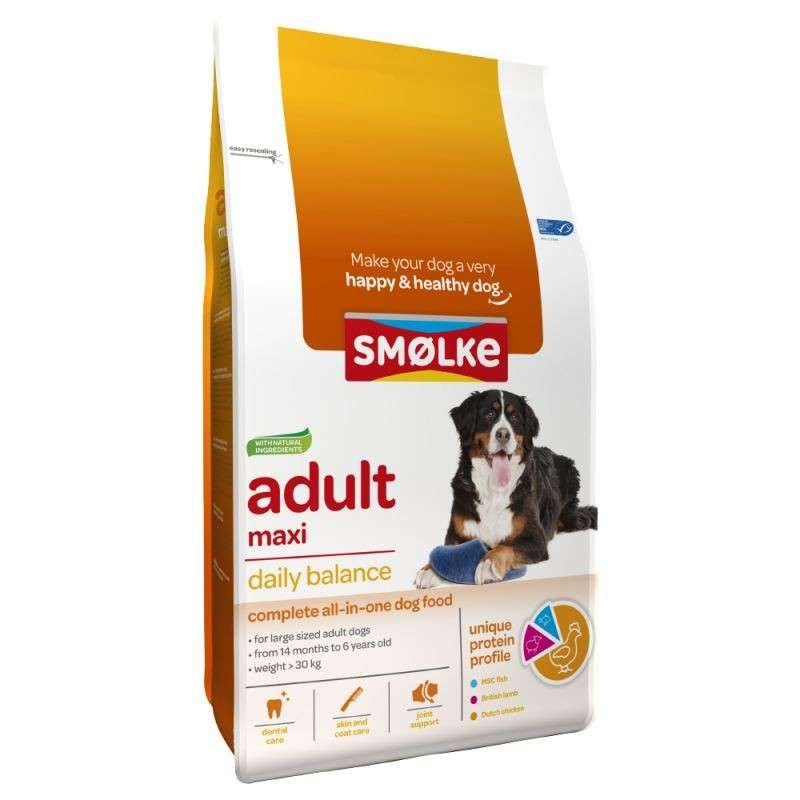 Smølke Adult Maxi Daily Balance 3 kg 8710429018099 opiniones