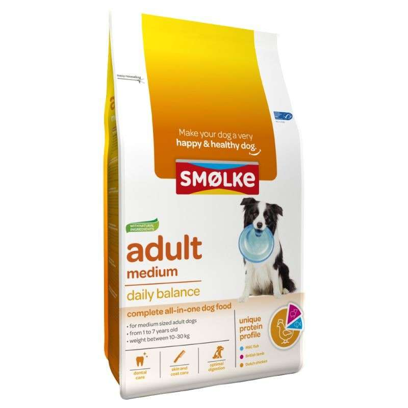 Smølke Adult Medium Daily Balance 3 kg 8710429018075