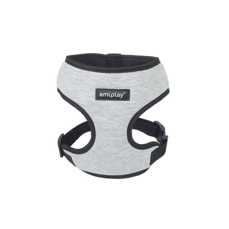 Amiplay Harness Scout Denver Grey L order cheap