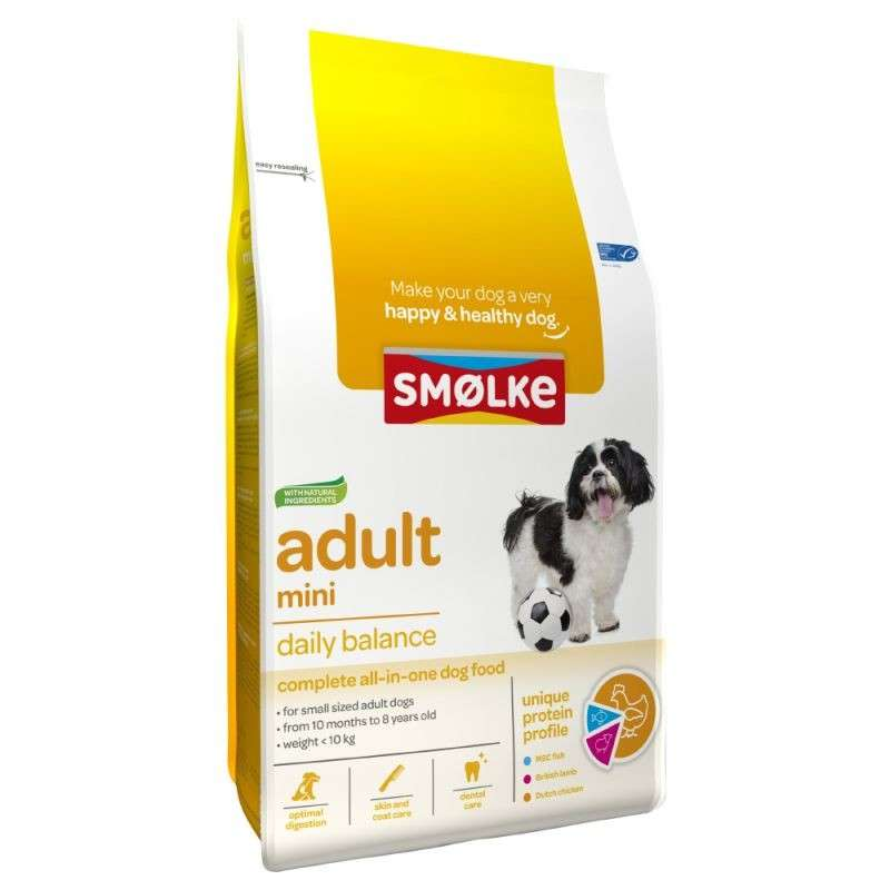 Smølke Adult Mini Daily Balance 3 kg 8710429018051 avis