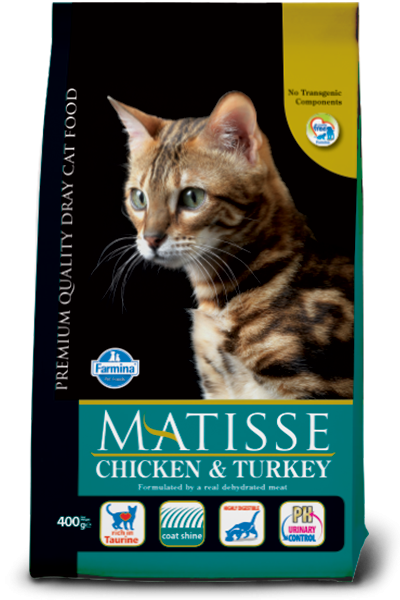 Farmina Matisse Chicken & Turkey 400 g, 20 kg, 1.5 kg test
