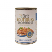 Boutiques Gourmandes Lapin True Meat Bits 400 g