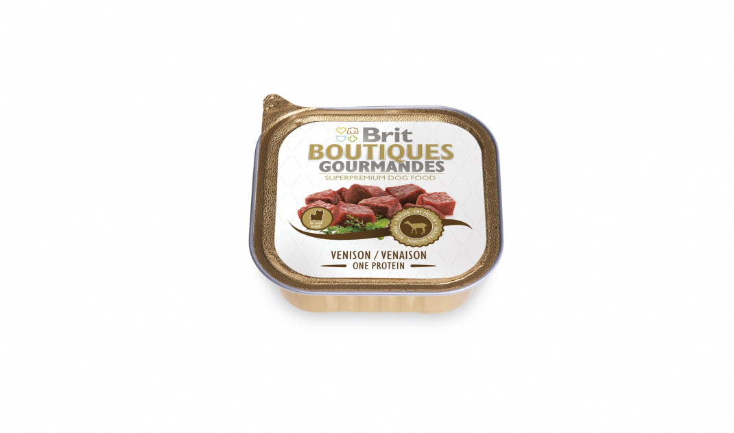 Brit Boutiques Gourmandes Ciervo Small Breed One Meat 150 g
