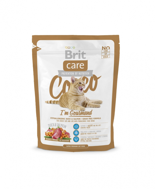 Brit Care Cocco I'm Gourmand 400 g 8595602505777 erfaringer