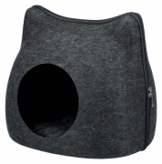 Trixie Cat Cuddly Cave, anthracite