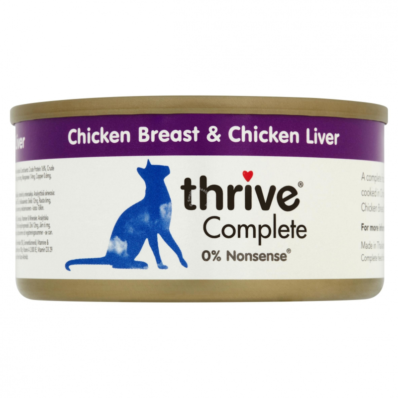 thrive Complete Chicken Breast and Chicken Liver 75 g