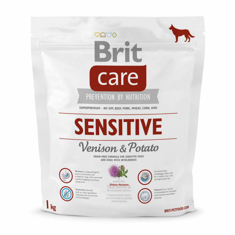 Brit Care Sensitive Ciervo & Patata 3 kg, 12 kg, 1 kg