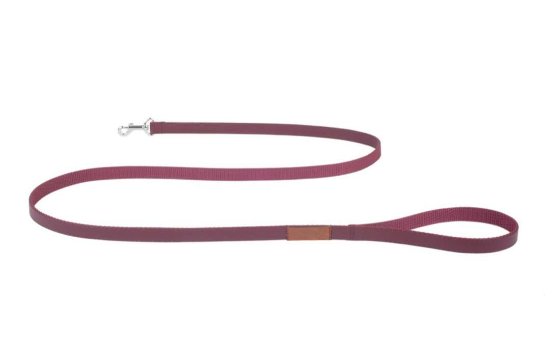 Amiplay Leash Lincoln  Wine red M order cheap