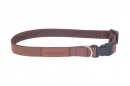 Adjustable Collar Lincoln Brown