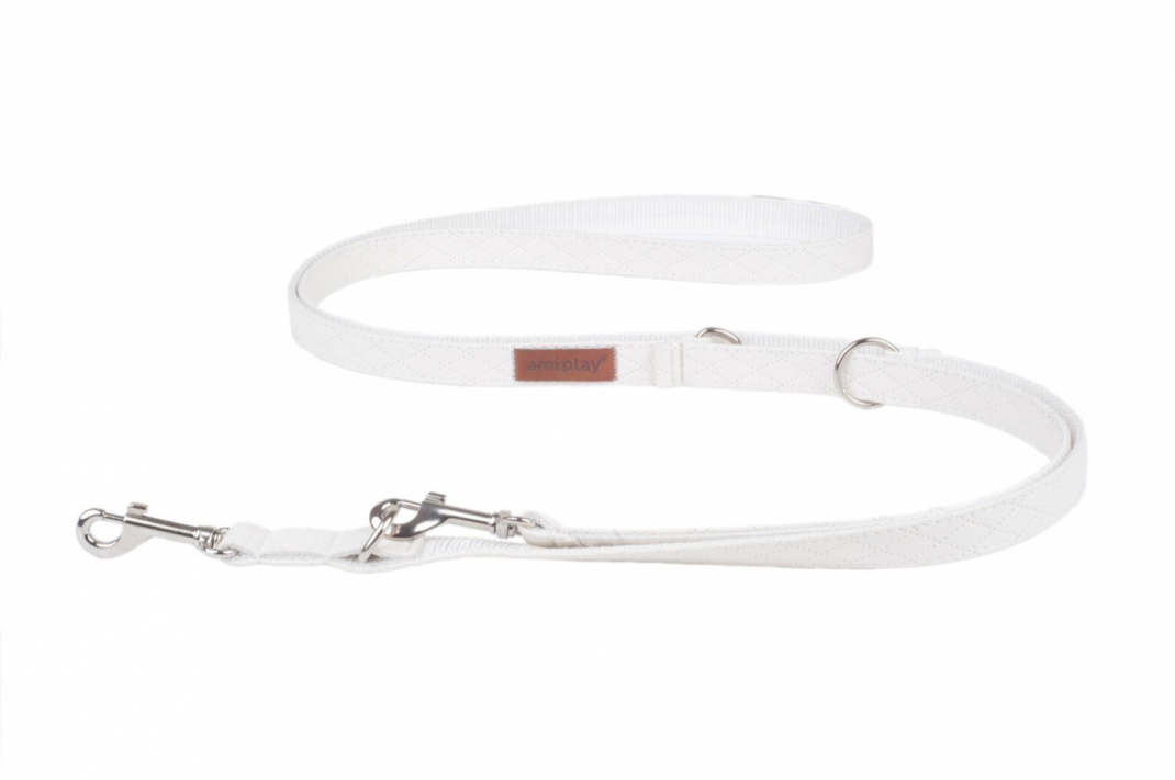 Amiplay Adjustable Leash 6 in 1 Cambridge White L buy online