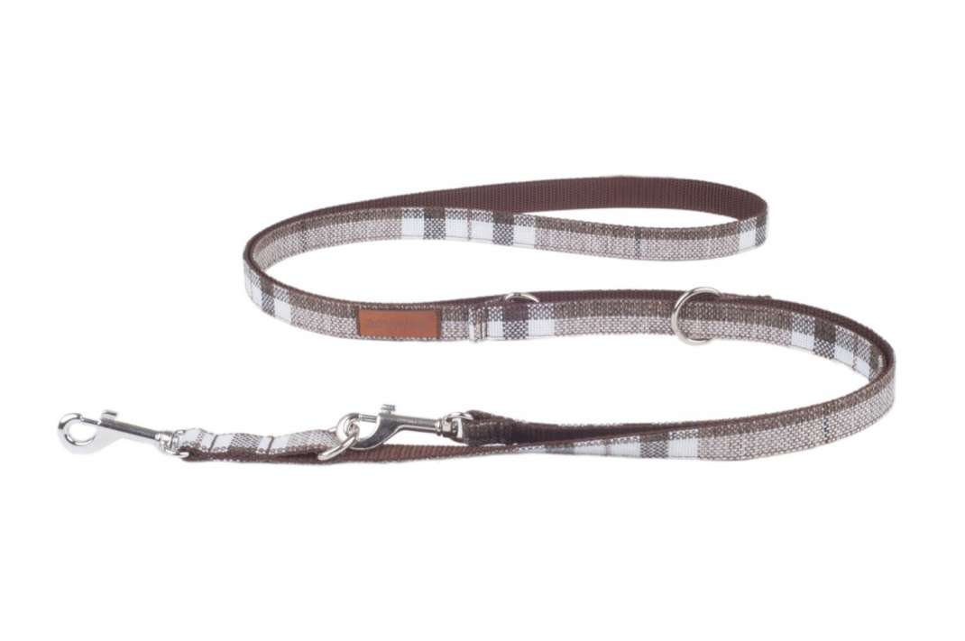 Amiplay Adjustable Leash 6 in 1 London Brown XL buy online