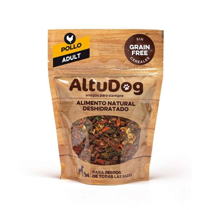AltuDog Chicken Grain Free Menu for Adult Dogs 1 kg 843701165835 erfaringer