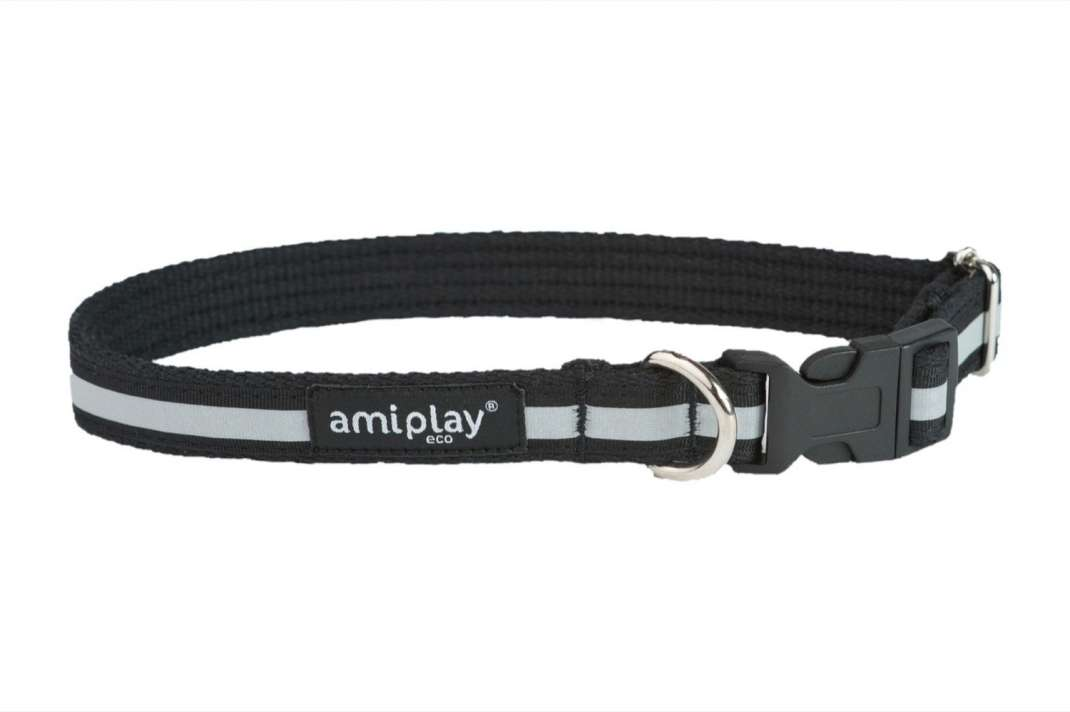 Amiplay Adjustable Collar Cotton Shine Size S