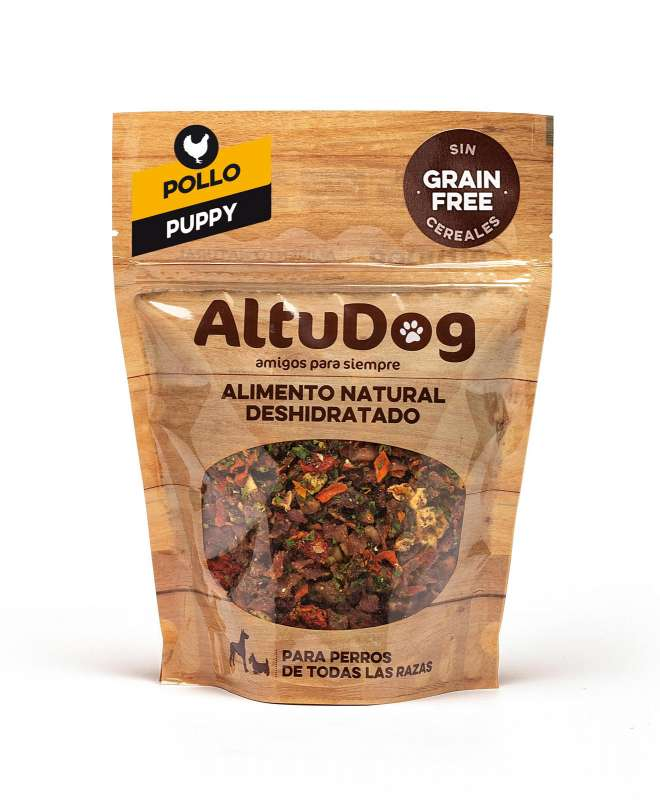 AltuDog Chicken Grain Free Menu for Puppies 500 g, 250 g, 1 kg