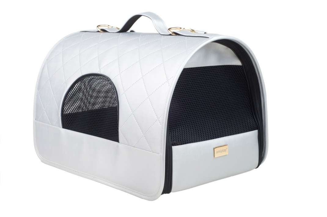 amiplay Sac de transport Venus  Argent L