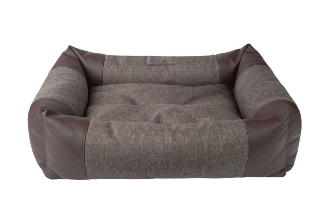 Amiplay Sofa ZipClean 2 in 1 Classic Marron foncé L