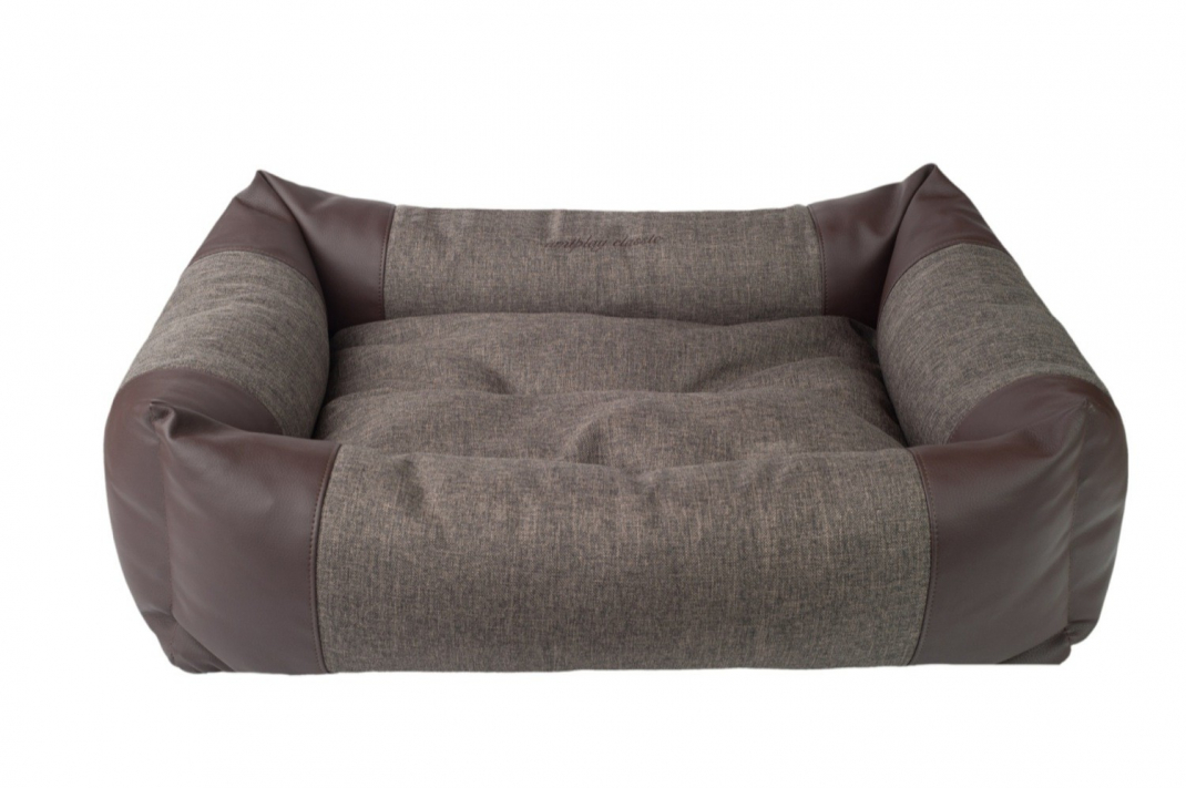amiplay Sofa ZipClean 2 in 1 Classic Dunkelbraun XL