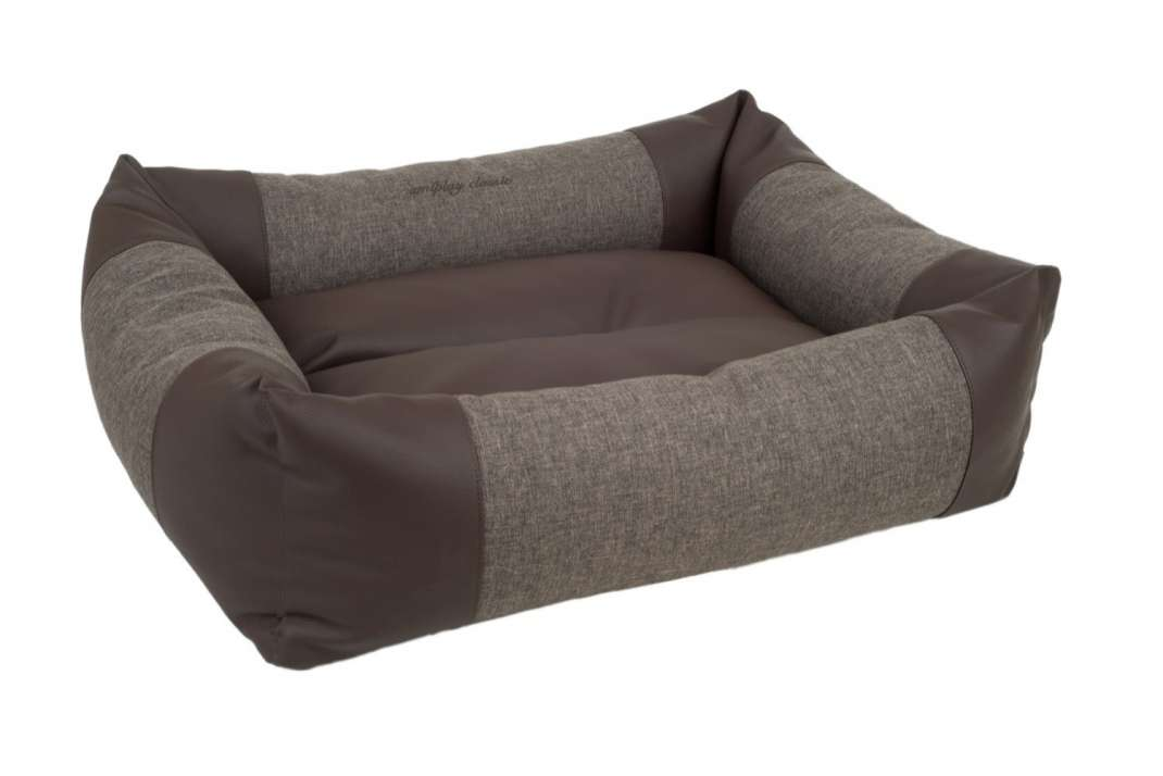Amiplay Sofa ZipClean 2 in 1 Classic Marron foncé XL