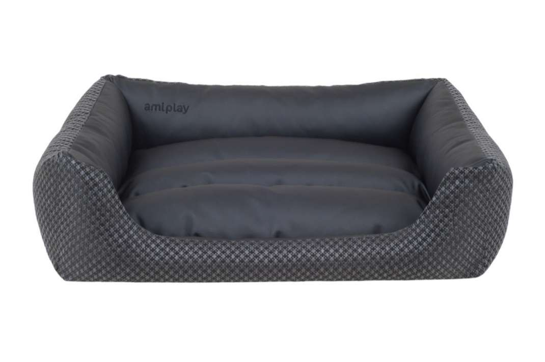 amiplay Sofa ZipClean 4 in 1 Morgan  Schwarz XS