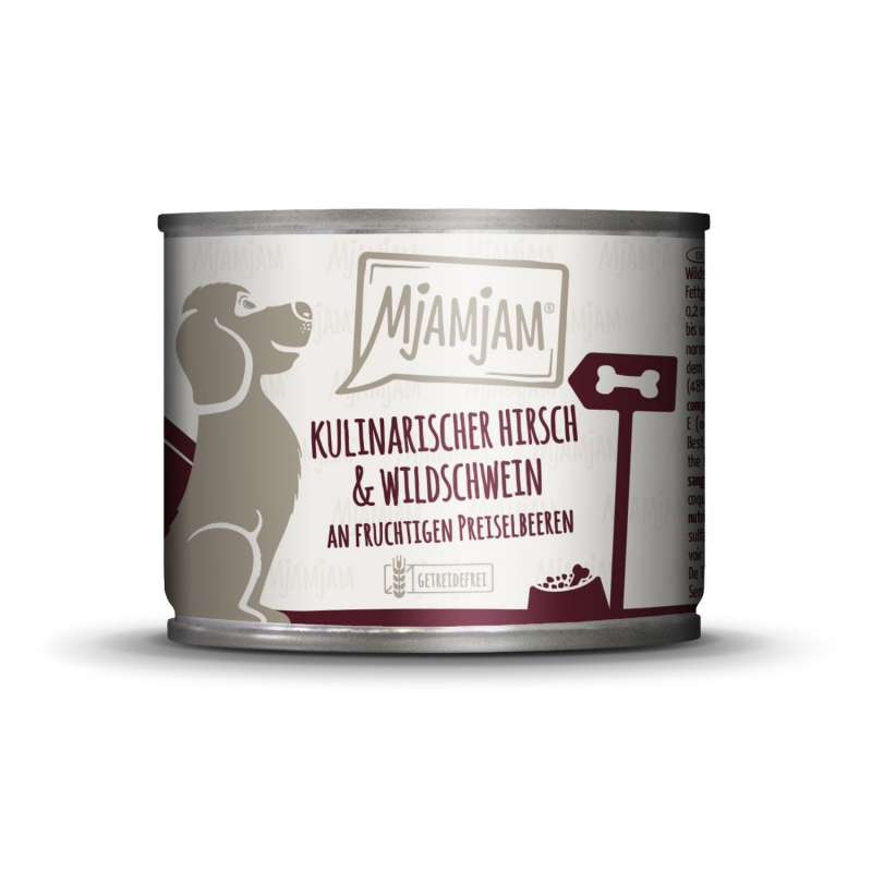 MjAMjAM Venison & Wild Boar with Cowberry 200 g
