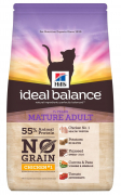 Hill's Ideal Balance Feline - Mature Adult No Grain con Pollo e Patate 1.5 kg