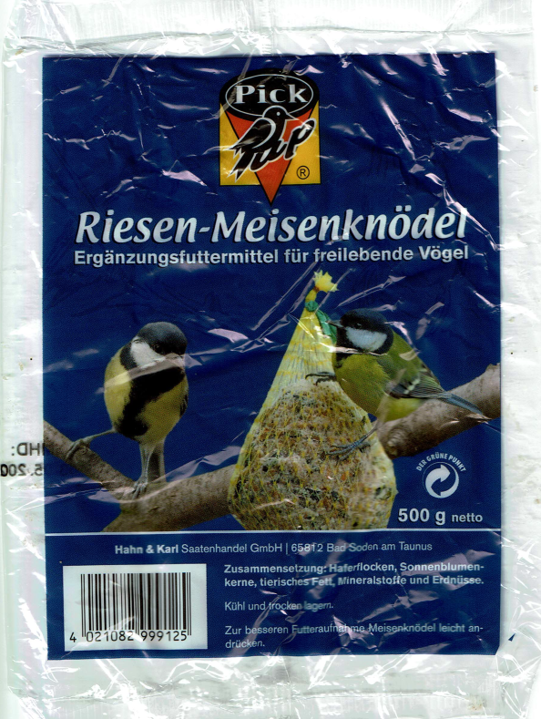 Pick up Berny Bird Giant Fat Ball 500 g  kjøp billig med rabatt