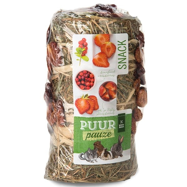 Witte Molen Puur Pauze Hay Roll Strawberry & Cranberry 200 g