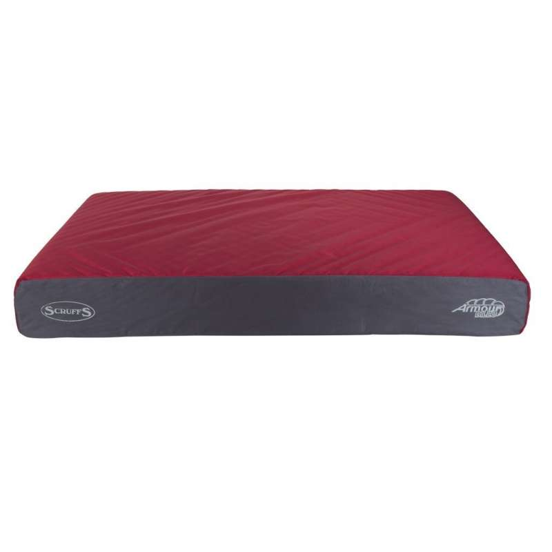Scruffs Armourdillo Orthopadic Bed  Red M order cheap