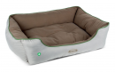 Insect Shield Soft Walled Dog Bed Taupe