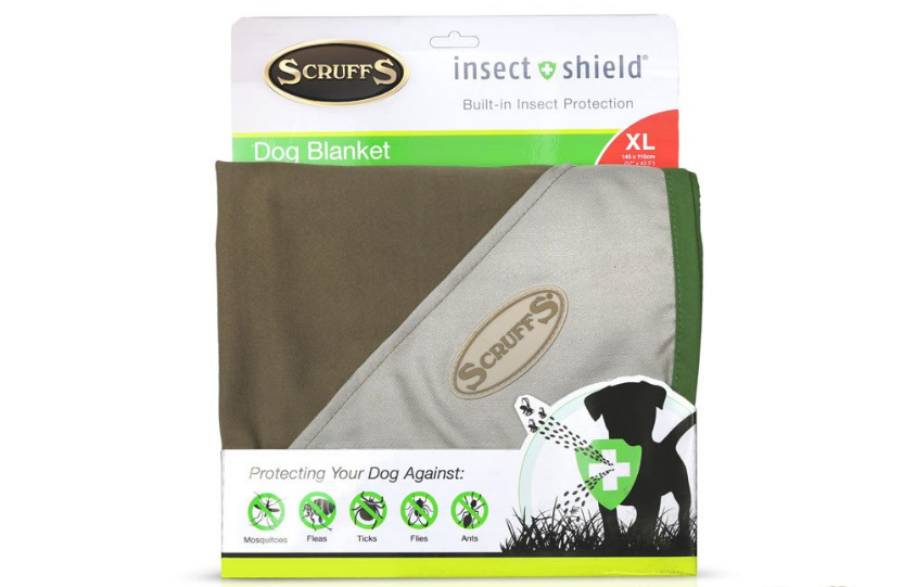 Scruffs Insect Shield Hundedecke XL Beige