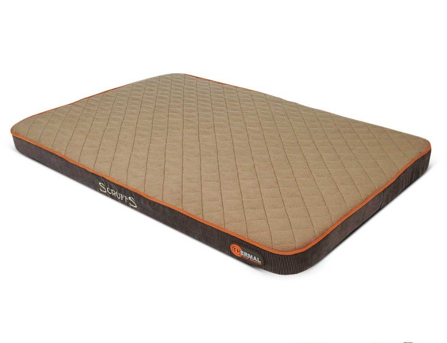 Scruffs Thermal Pet Mattress  Braun 82x58x5 cm