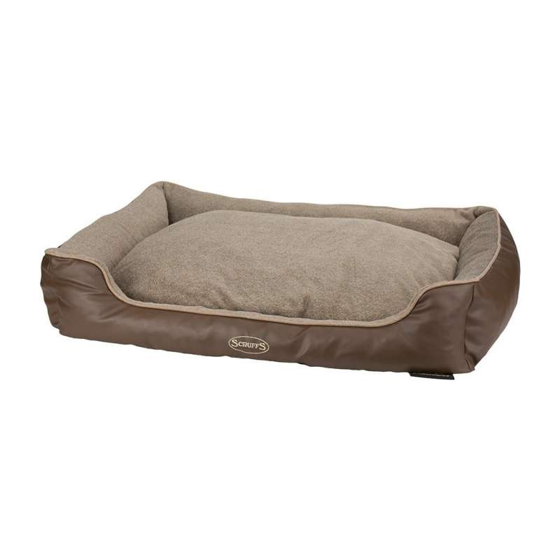 Chateau Memory Foam Box Bed Taupe L von Scruffs bei Zoobio.at