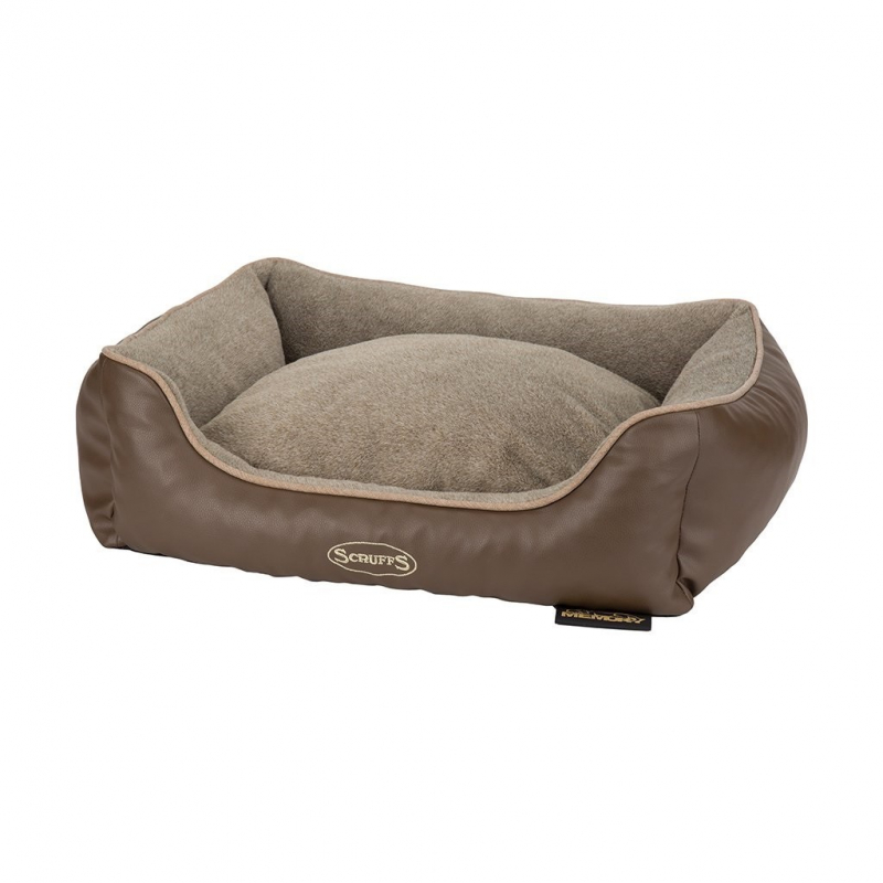 Scruffs Chateau Memory Foam Box Bed  Taupe M order cheap
