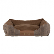 Scruffs Windsor Box Dog Bed Marrón
